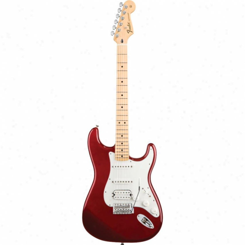 Fender® Standard Stratocaster® Hss Guitar - Candy Apple Red - 014-4702-5