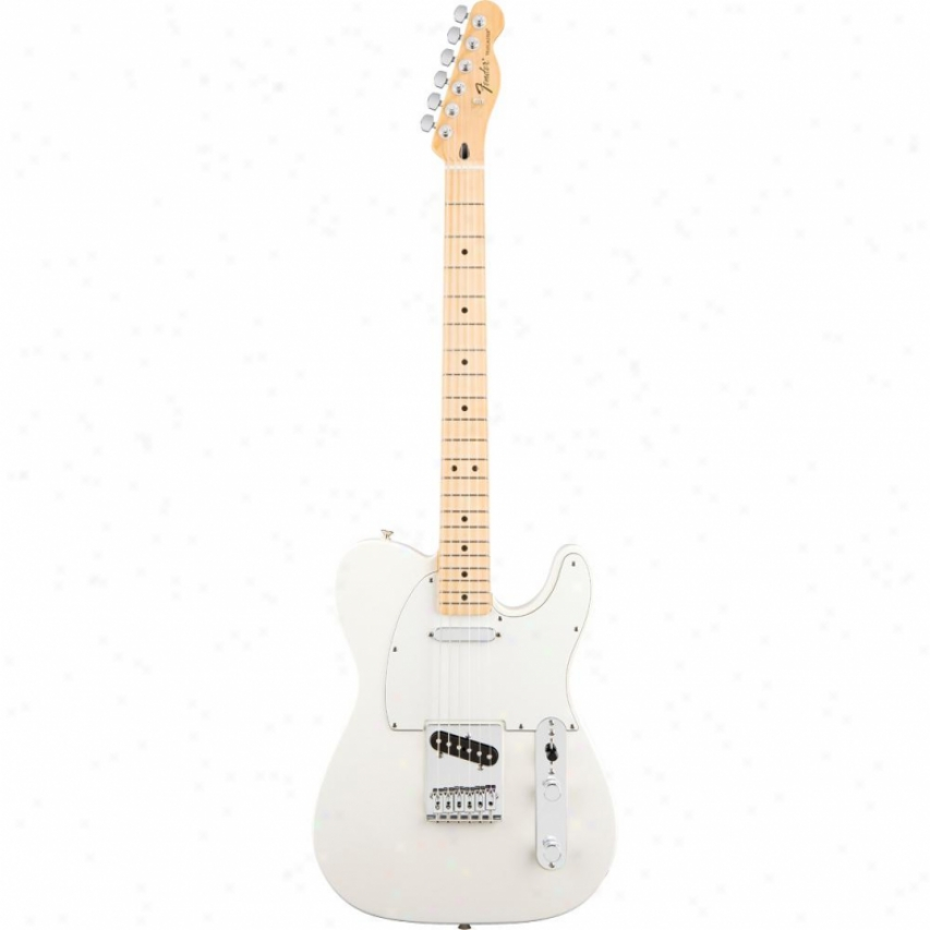 Fender® Standard Telecaster® Electric Guitar - Arctic White Maple