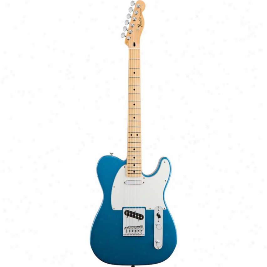 Fender&rve; Standard Telecaster® Guitar - Lake Placid Blue - 014-5102-502
