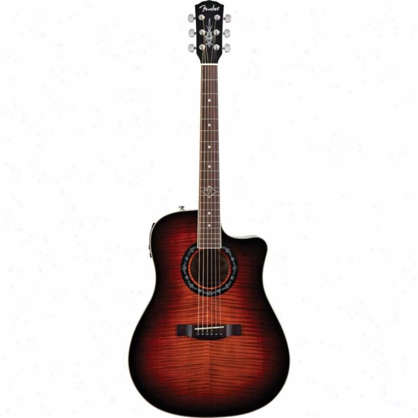 Fender® T-bucket™ 300 Ce Acoustic Guitar - 3-color Sunburst - 095-8005-