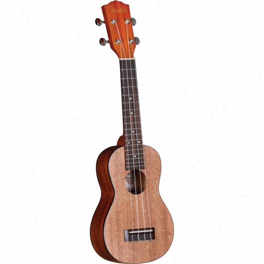 Fender® U'uku Soprano Ukulele - 095-5645-021