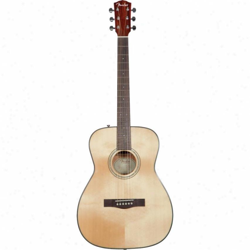 Fender(open Box® Cf-140s Acoustic Guitar - Natural - 09661460021