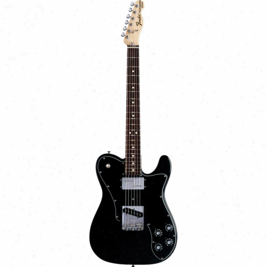 Fender(open Box® Classic Series '72 Telecaster® Custom Guitar - Black