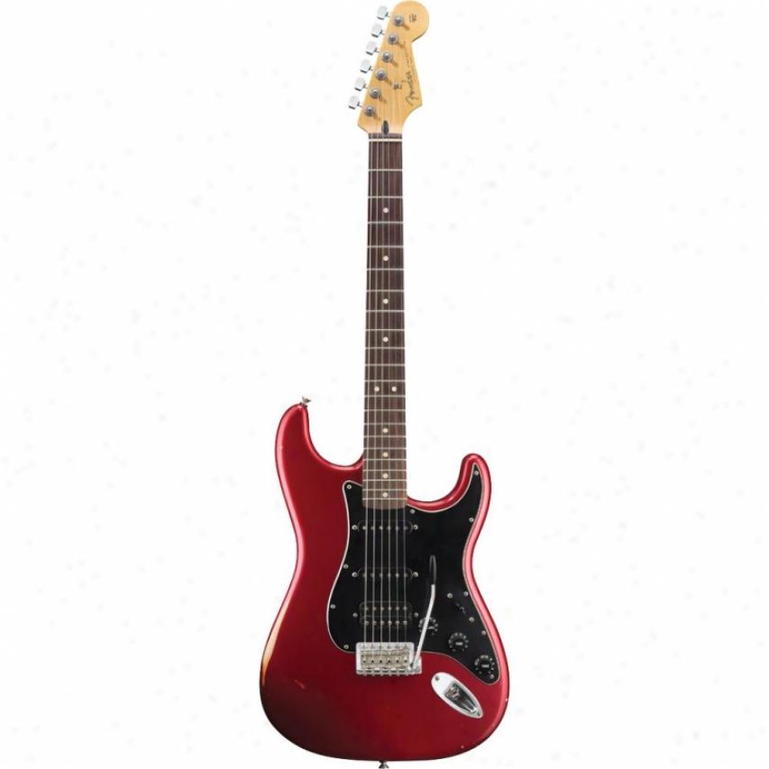 Fender(oprn Bod® Road Worn Player Stratocaster® Hss Giutar - Candy Apple