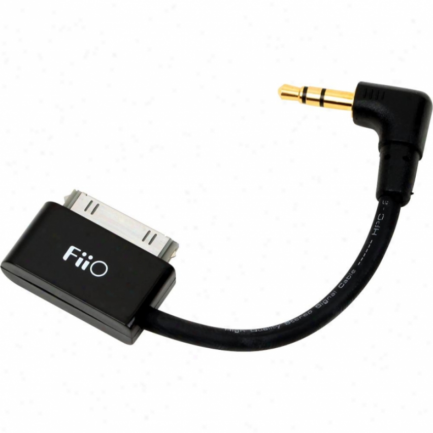 Fiio L9 L-shaped Line Thoroughly Curtail Cable For Ipod & Iphone