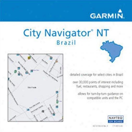 Garmib 010-10759-00 City Navigator Nt Brazil Microsd Memory Card