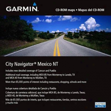 Garmin City Select For Mexico