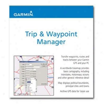 Garmin Mapsource Trip/waypoint Mgr