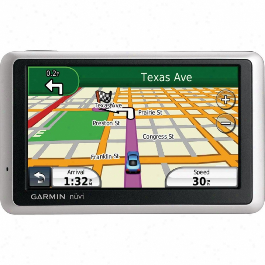 "Garmin Nuvi 1450lmt 5.0"" Gps Navigator - Lifetime Map & Traffic Updates"