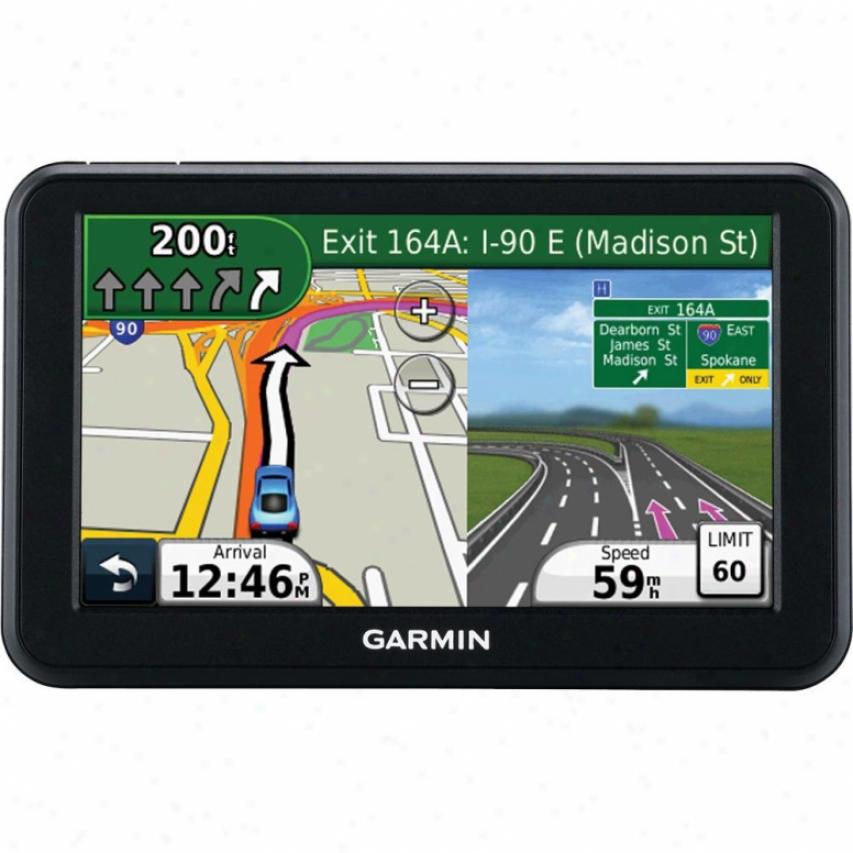 "Garmin Nuvi 50lm 5"" Touchscreen Gps Navigator - Lifetime Map Updates"