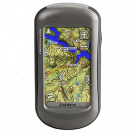 Garmin Oregon 450t Topo Us Gps