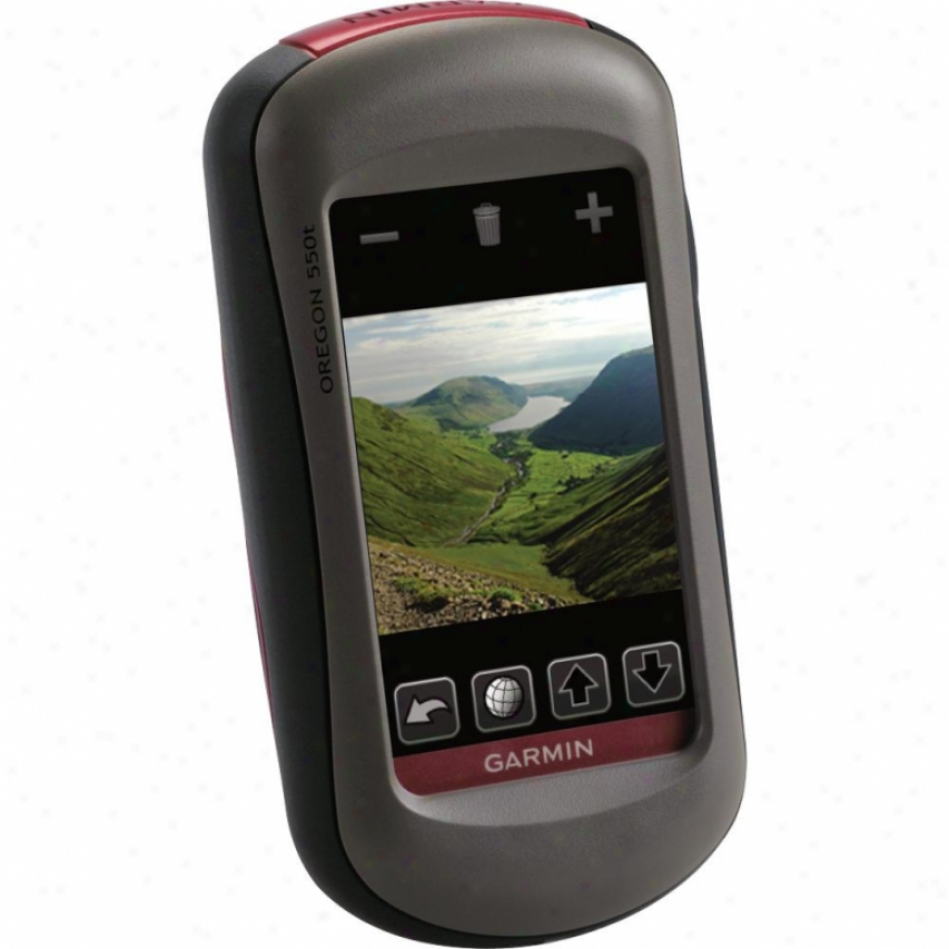 Garmin Oregon 550t Outdoor Gps System