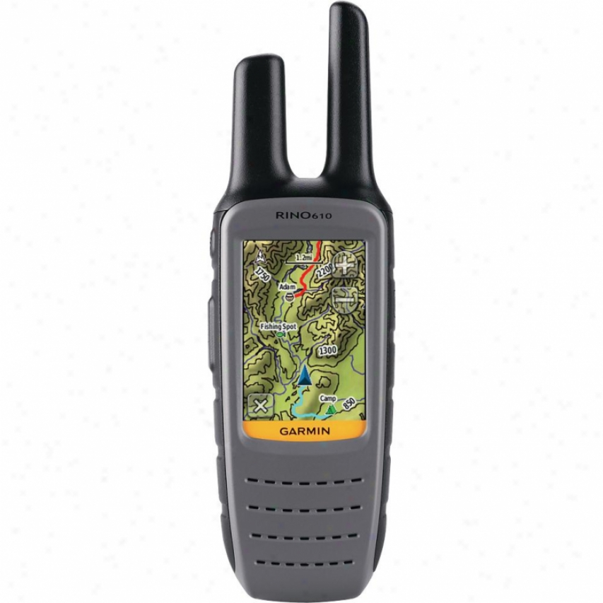 Garmin Rino 610 Rugged Touchscreen Gps & Two Way Radio
