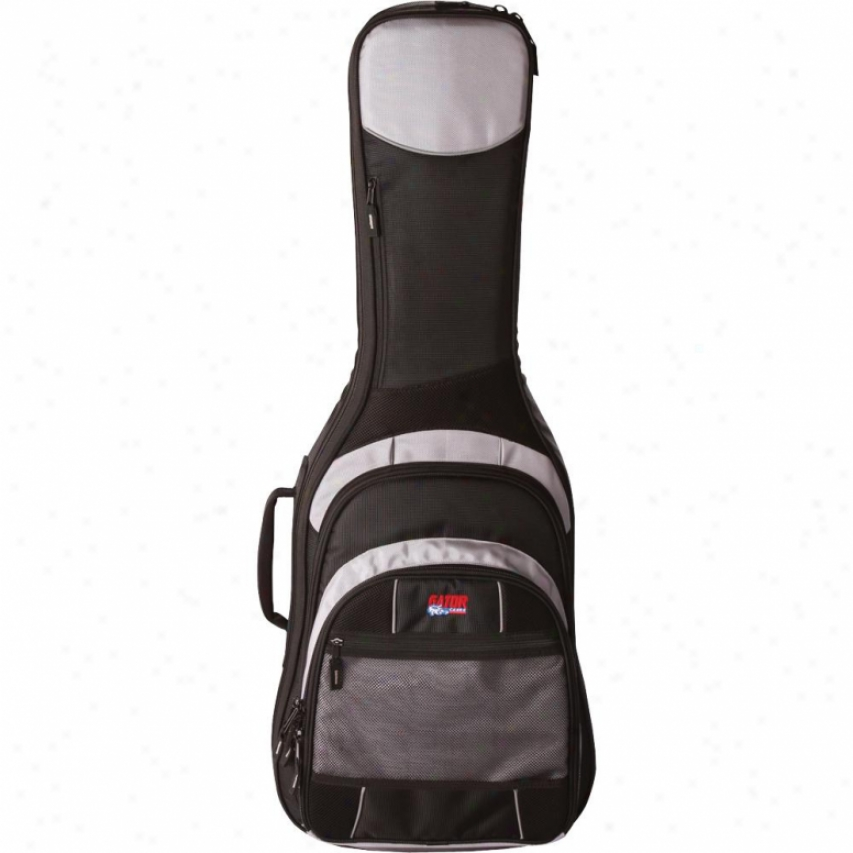 Gator Cases Commander Gig Bag Because Electric Gutiars Gcomelec