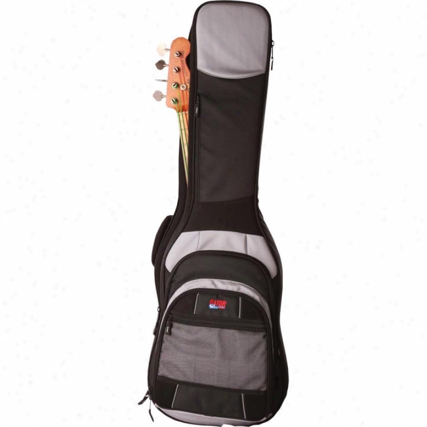 Gator Cases Commander Premium Gig Bag For Bass Guitars Gcombass