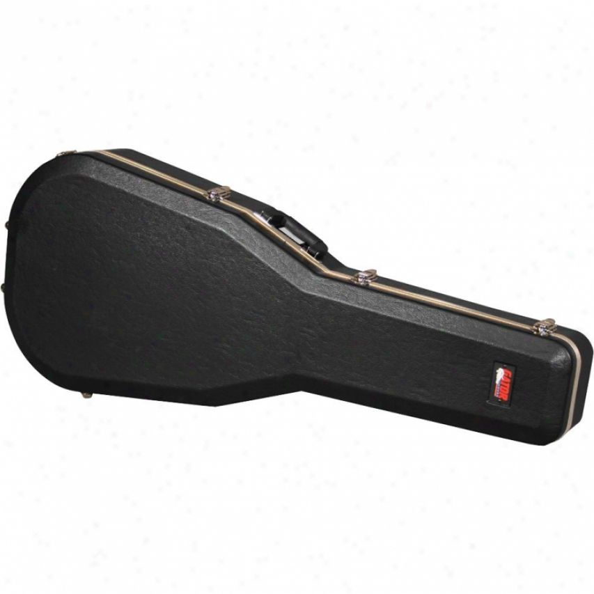 Gator Cases Deluxe Molded Case For Jumbo Acoustif Guitars