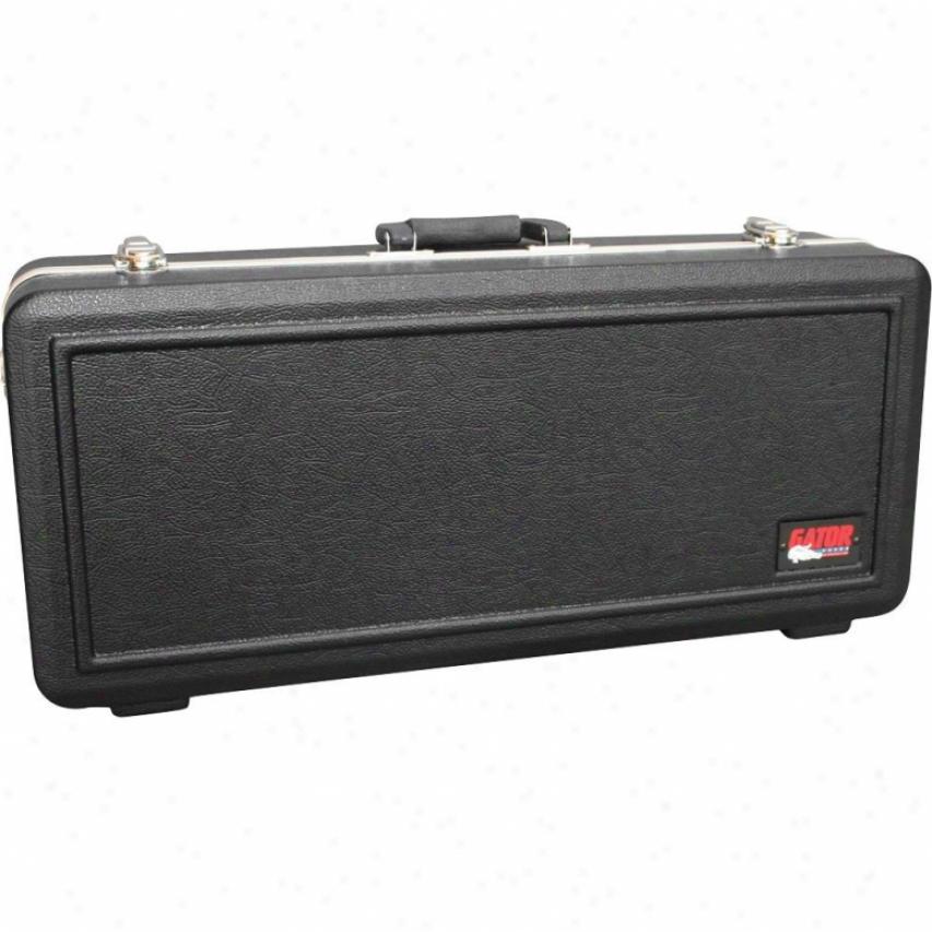 Gator Cases Deluxe Molded Rectangular Case For Alto Saxophone