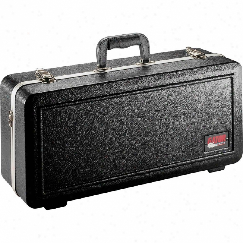 Gator Cases Deluxe Molded Trumpet Case Black Gctrumpet