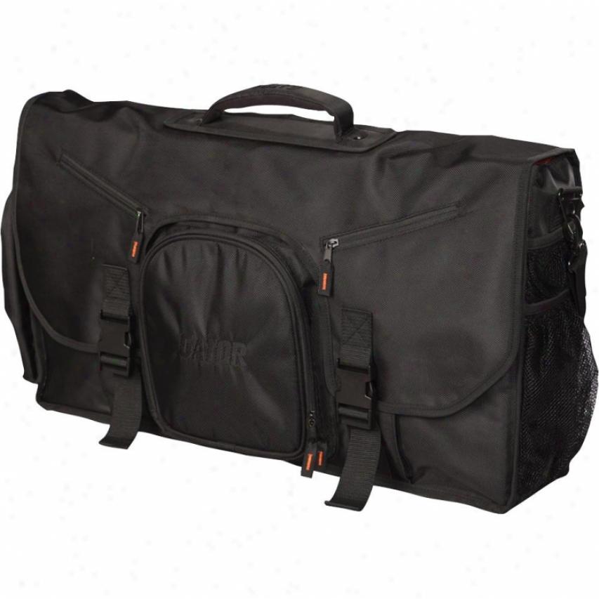 "Gator Cases Dj Bag Larger G-club Control 25"" Bag"