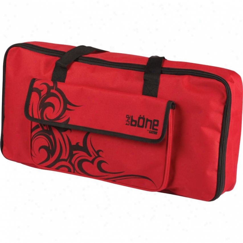 Gator Cases G-bone Molded Pe Pedal Board And Carry Case - Tribal Red