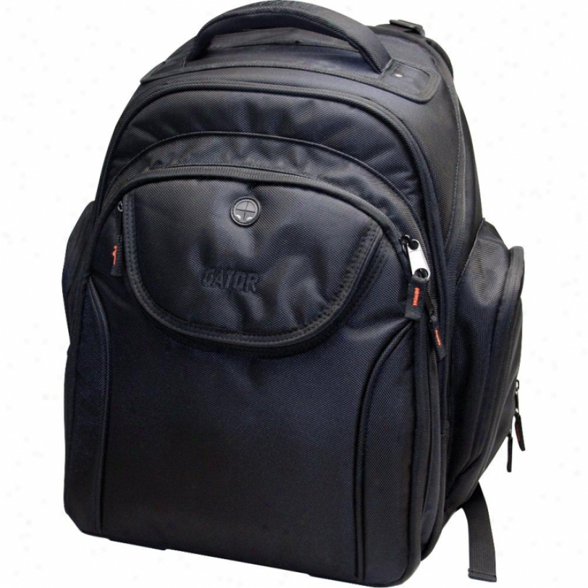Gator Cases G-club Style Large Backpack - Black