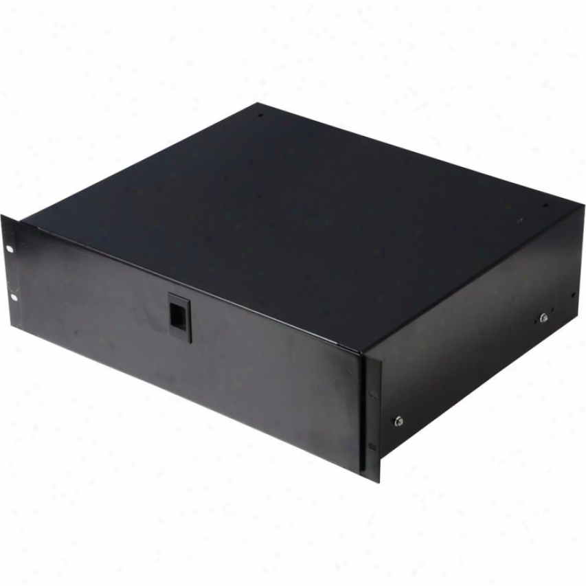 Gator Cases Ge-drawer-4udfm 4u Rack Drawer With Diced Foam Interior