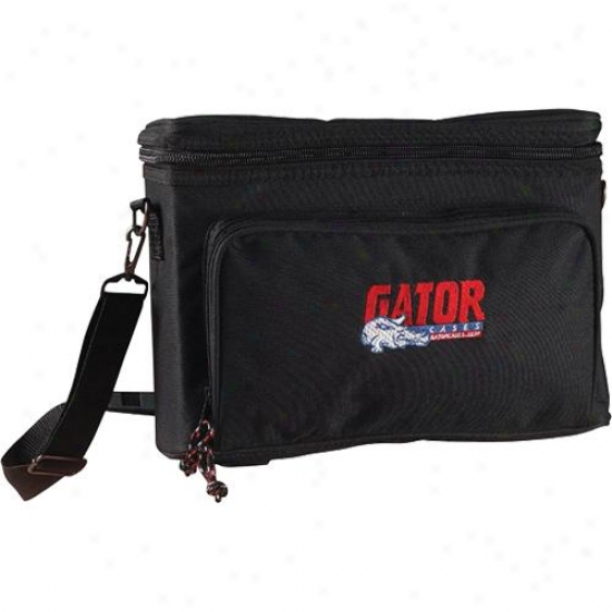 Gator Cases Padded Sack For A Single Wirekess Mic System - Black - Gm-1w