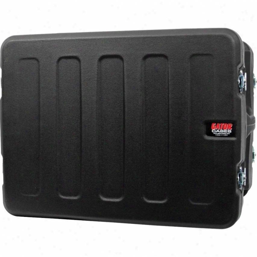 "Gator Cases Pro Series Molded Mil Grade 10u 19"" Deep Pe Rack Case"