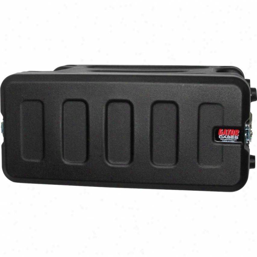 "Gator Cases Pro Series Molded Mil Grade 4u 19"" Deep Pe Rack Case"
