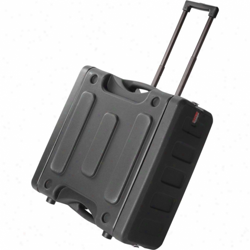 "Gator Cases Pro Series Molded Mil Grade 6u 19"" Deep Pe Rack Case"