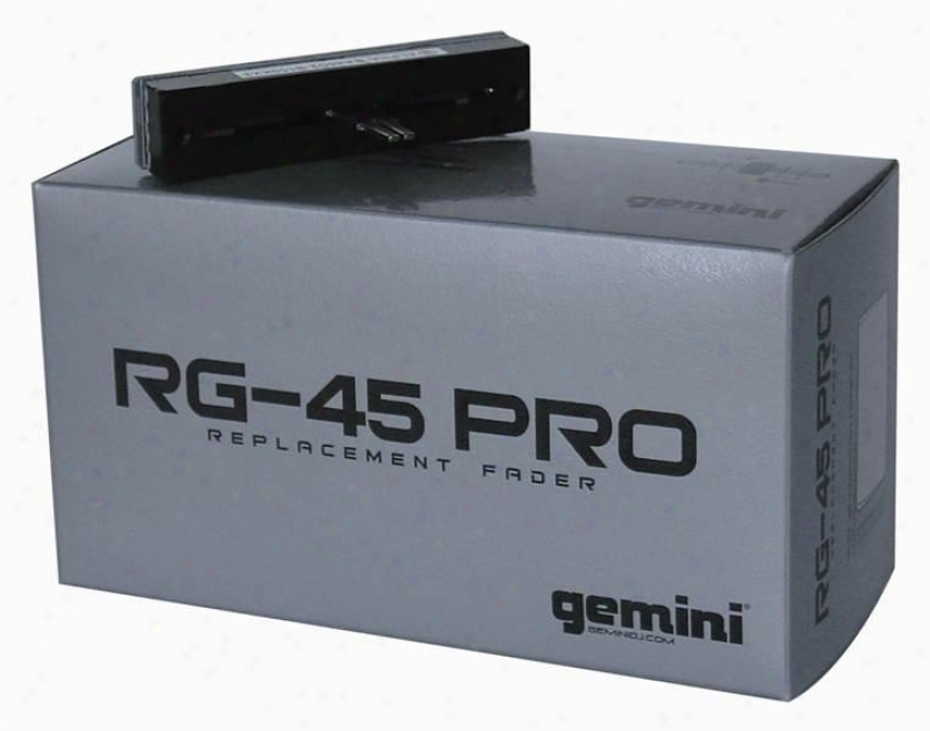 Gemini 45mm Replacement Crossfader For All Pdm, Pmx, Kl & Most Ps