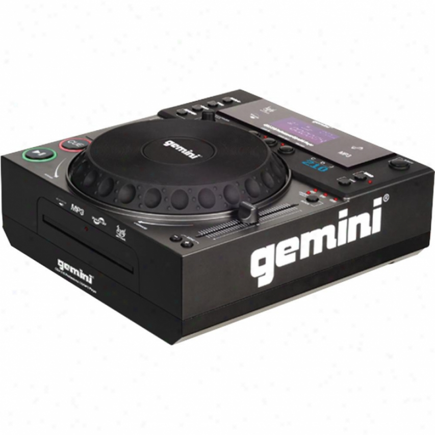 Gemini Cdj-210 Tablrtop Cd/mp3 Player