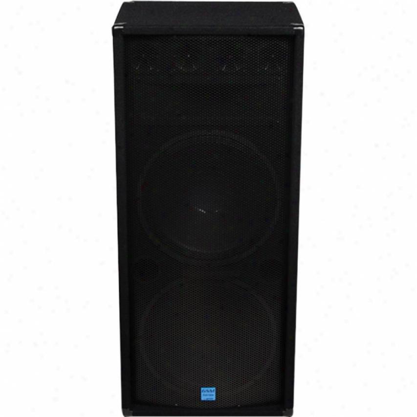"""Gemini Gsm-3250 Dual 15"""" Loudspeaker"""
