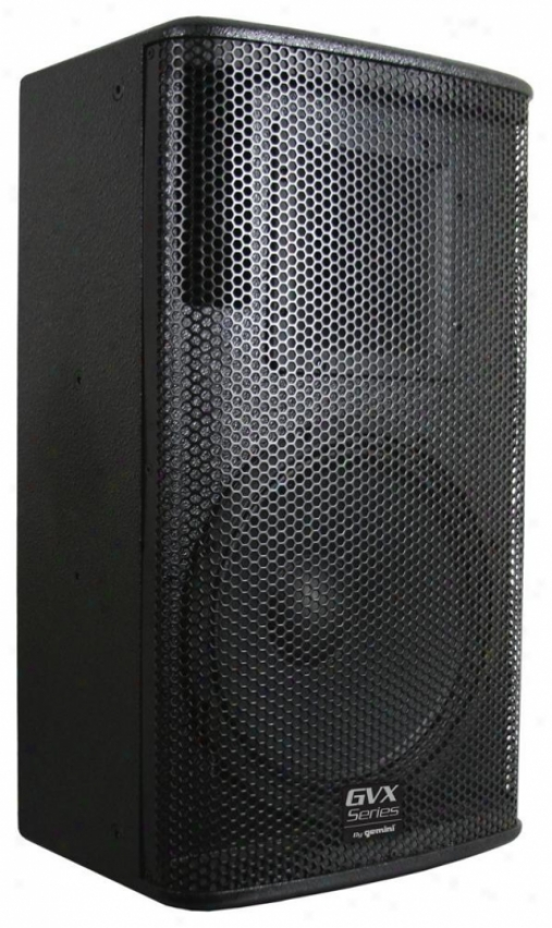 Gemini Gvx-12 2-way Passive Speaker - Black Acrylic Lacquer
