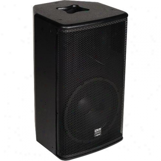 "Gemini Gvx-12p Powered 12"" Speaker - Black Acrylic Lacquer"