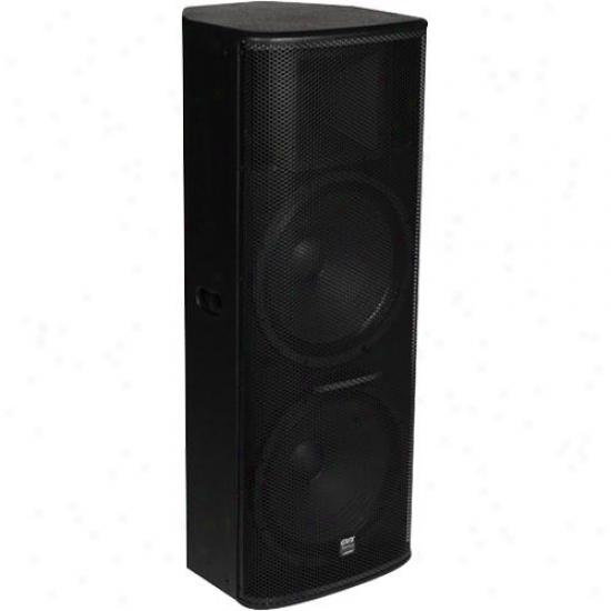 Gemini Gvx-215 2-way Pasdive Speaker - Black Acrylic Lacquer