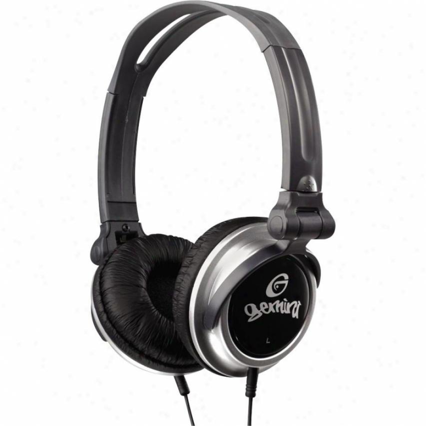 Gemini Professional Dj Stereo Headphones W/folding Cup
