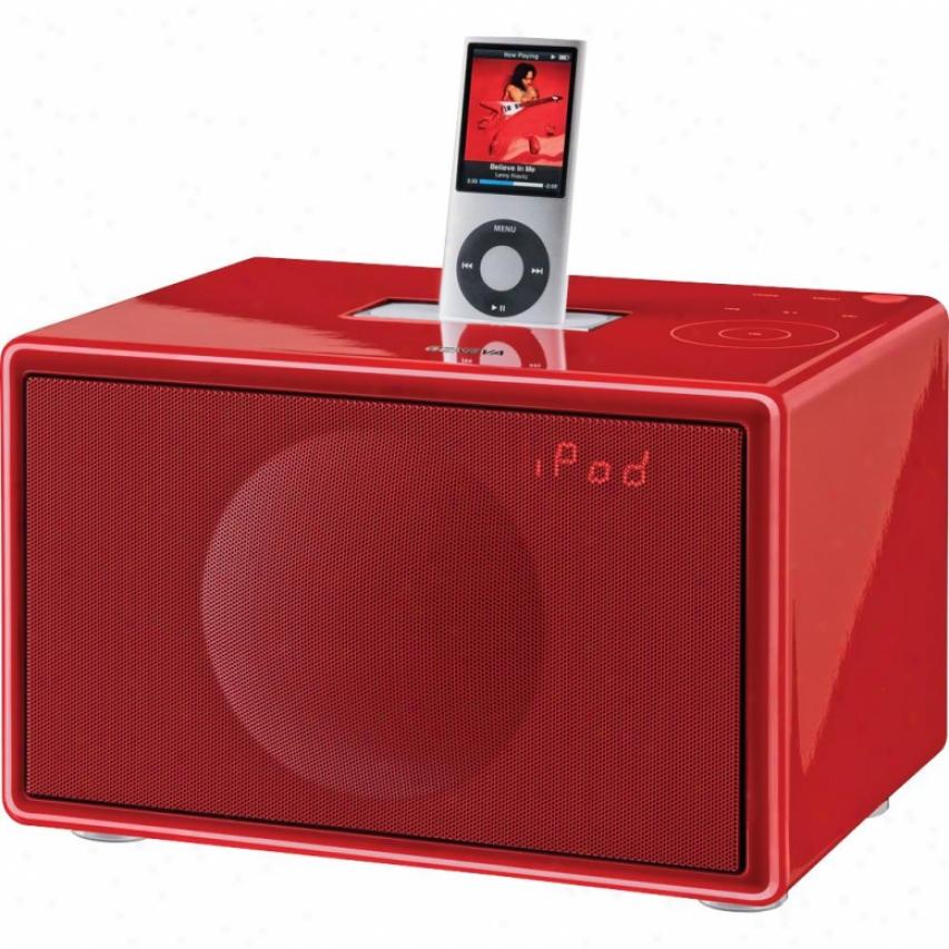 Geneva Sound S Hi-fi System - Red