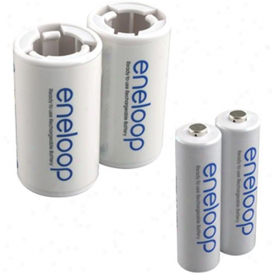 Ge/sanyo Aa Rechargeable Battery C Spacer Kit Ncsc2aan