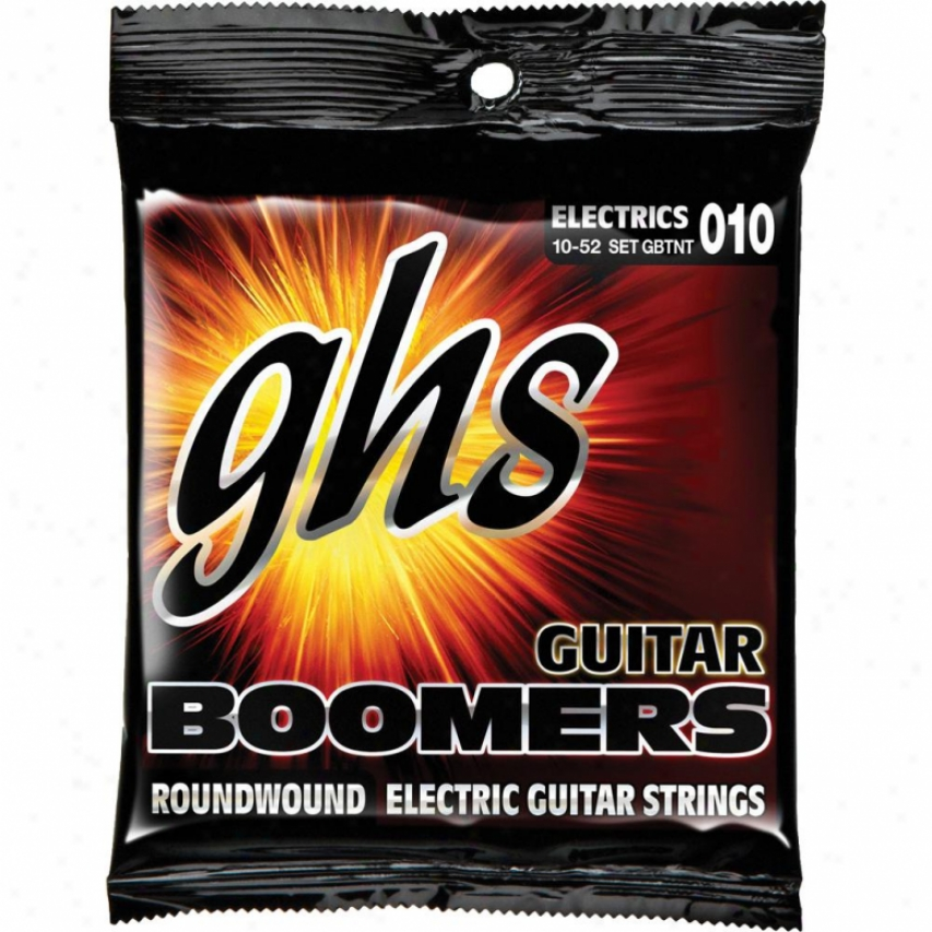 Ghs Strings Boomers Electric Guitar Strings - Gbtnt