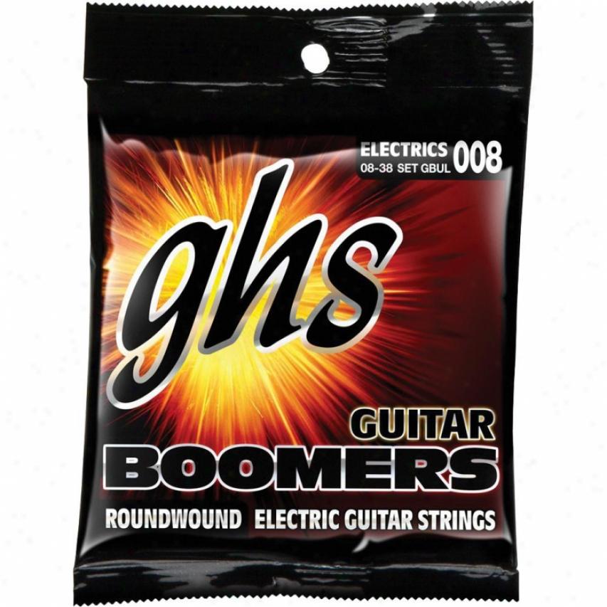 Ghs Strings Boomers Electric Guitar Strings - Gbxl