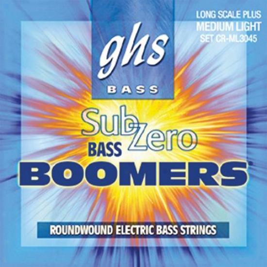 Ghs Strings Crml3045 Sub-zero Boomer Medium Light Bass Guitar Strings
