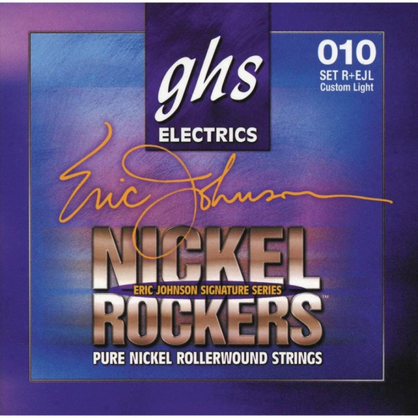 Ghs Strings Eric Johnson Signature (light)- Nickel Rockers Guitar Strings - R+ej