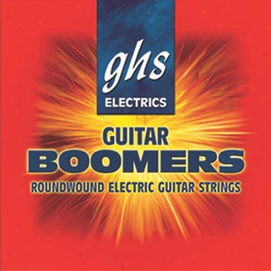 Ghs Strings Gb91/2 Boomers Extra Light + 1/2 Guitar Strings