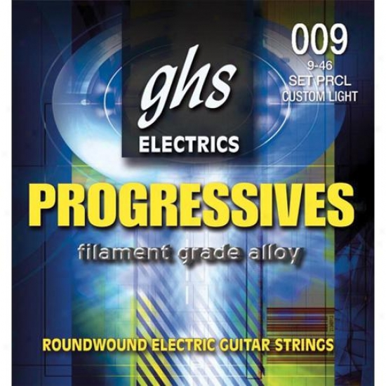 Ghs Strings Progressives Electric Guitar Strings - Pfcl