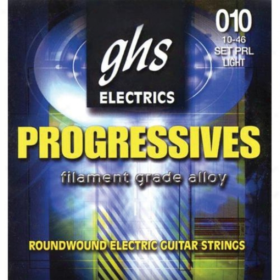 Ghs Strings Progressives Strings For Electric Guitar - Prl