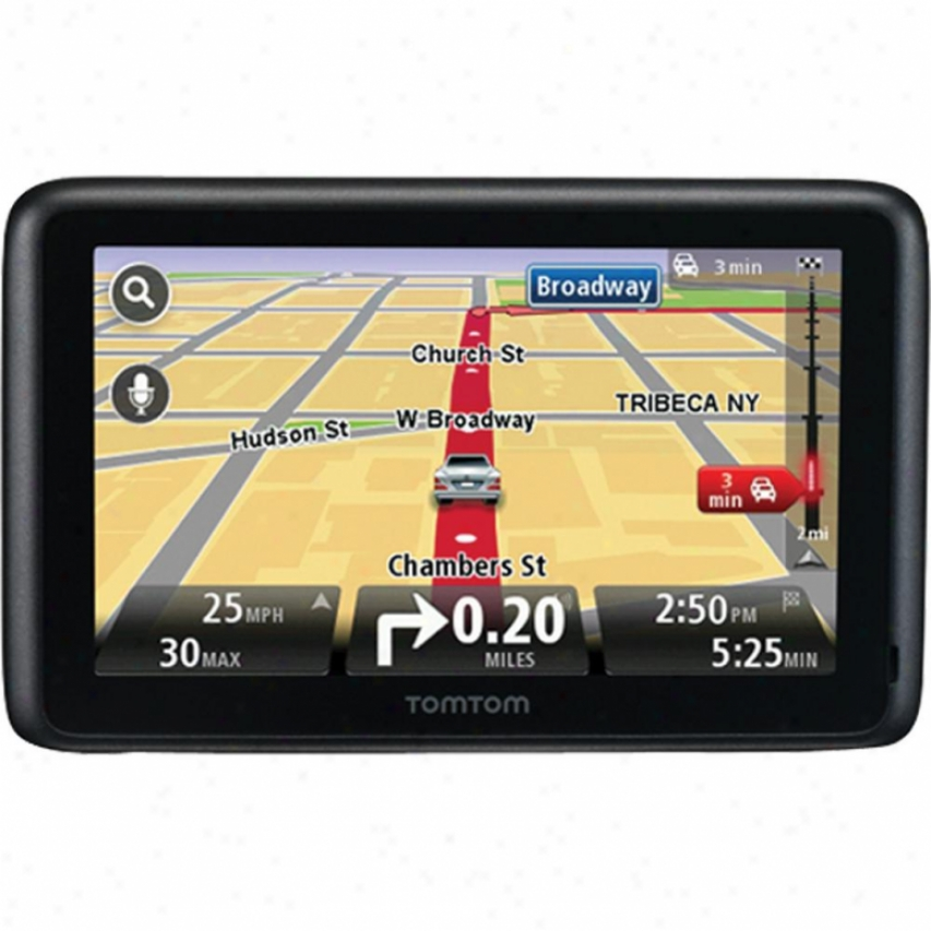 "Go 2535 4.3"" Bluetooth Gps Navigator By the side of Lifetime Traffic & Maps"
