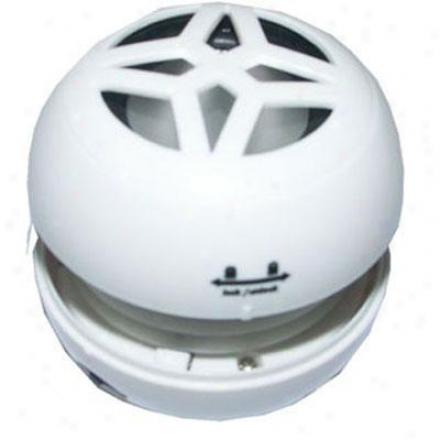Goldx Dataplus Mini Speaker - White