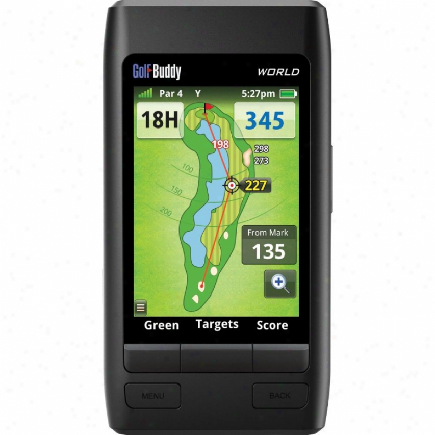 Golfbuddy World Gls Range Finder - Gb4-unit-world