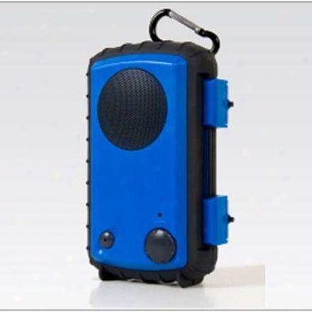 Grace Digital H20 Case For Ipod / Mp3- Blue